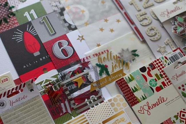 Christmas scrapbooking kit @ shimelle.com