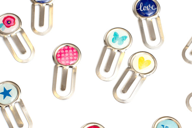 epoxy paperclips - Starshine Scrapbooking Collection from Shimelle & American Crafts @ shimelle.com