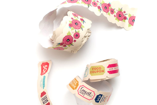 shaped washi tape - Starshine Scrapbooking Collection from Shimelle & American Crafts @ shimelle.com