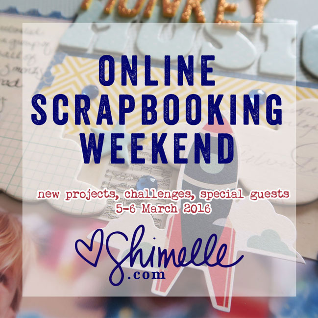 online scrapbooking challenges open until 14 march 2016