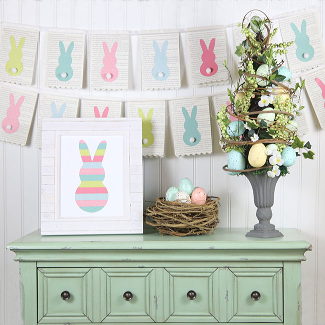 Easter decor by Gina Lideros