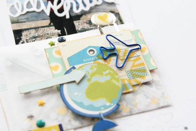 scrapbooking with more photos // scrapbook page by kirsty smith