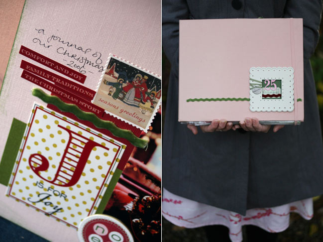 online scrapbooking class :: Journal your Christmas