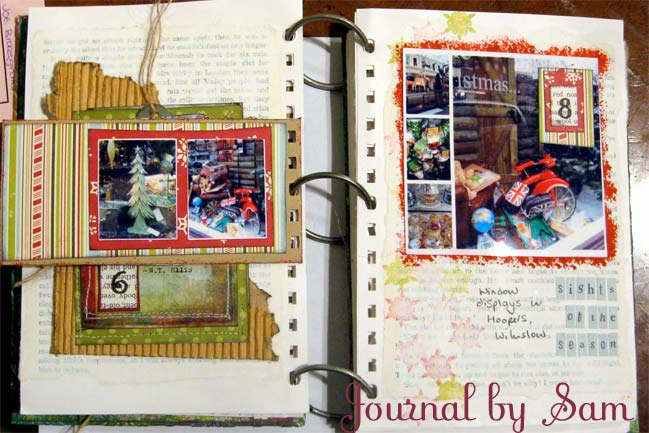 Christmas Scrapbook by Sam