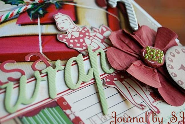 Christmas scrapbook by SJ
