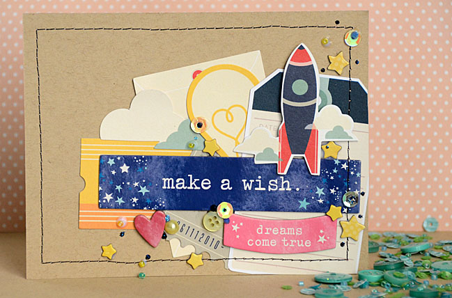 Handmade Cards with Starshine by May Flaum