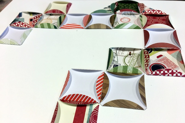 Folding Circle Punches // scrapbook page by Sheena Rowlands