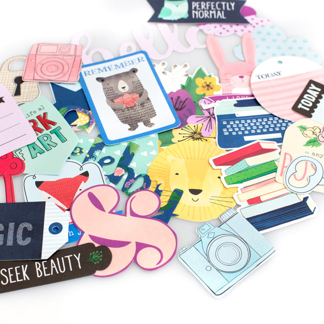 Little By Little scrapbooking collection by Shimelle for American Crafts