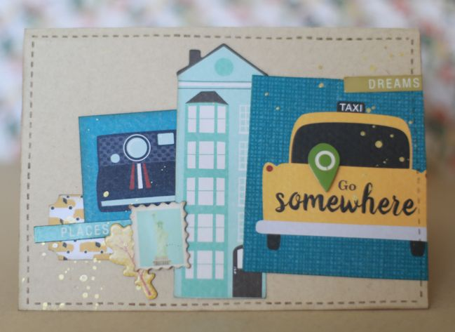 Handmade Cards with Go Now Go // handmade cards by Shimelle Laine