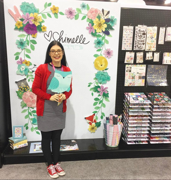 CHA Creativation 2017: Little by Little by Shimelle for American Crafts