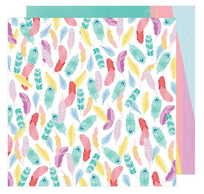 Little by Little patterned paper by Shimelle for American Crafts