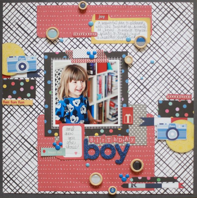 Getting Unstuck with your Scrapbook Style :: Glitter Girl Scrapbooking Process Video by Shimelle Laine