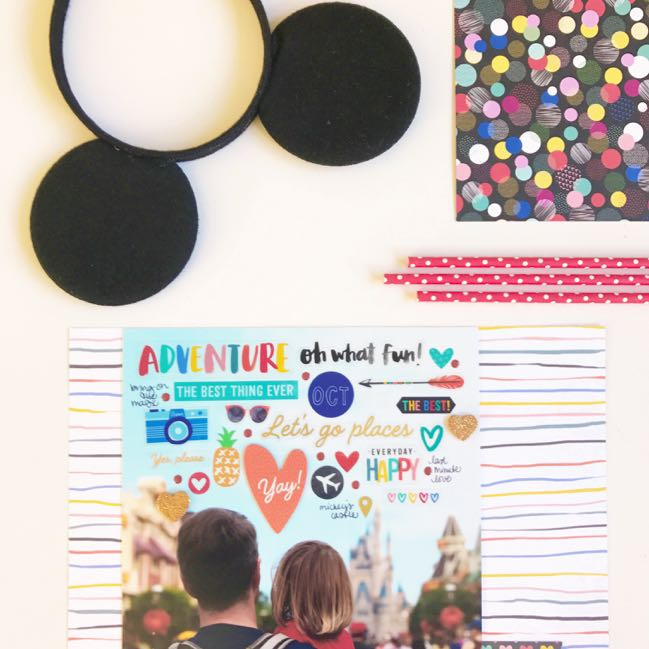 A Most Magical Scrapbook: Disney Scrapbooking Class with Shimelle Laine