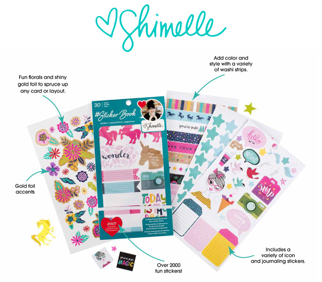 Shimelle Sticker Book from American Crafts