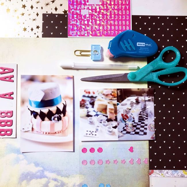 Clear the Desk online scrapbooking class