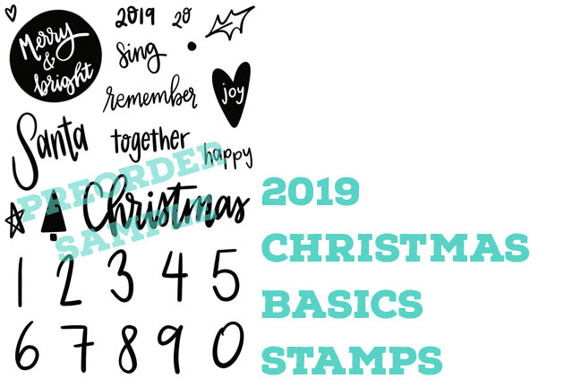 2019 Christmas Basics Stamps