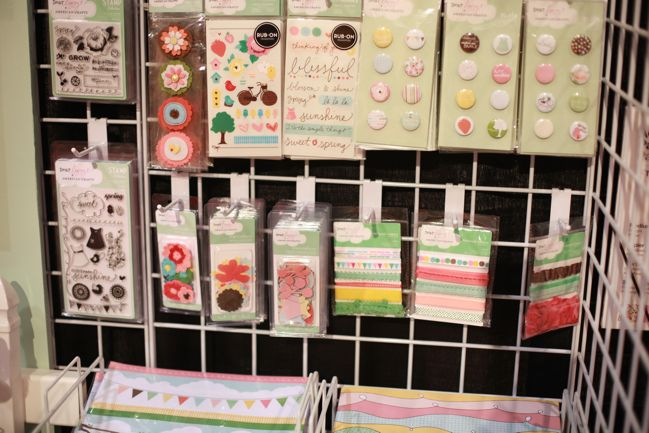 scrapbooking supplies from Dear Lizzy by American Crafts