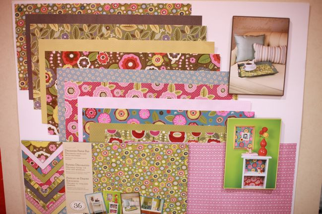 scrapbooking supplies from k & company