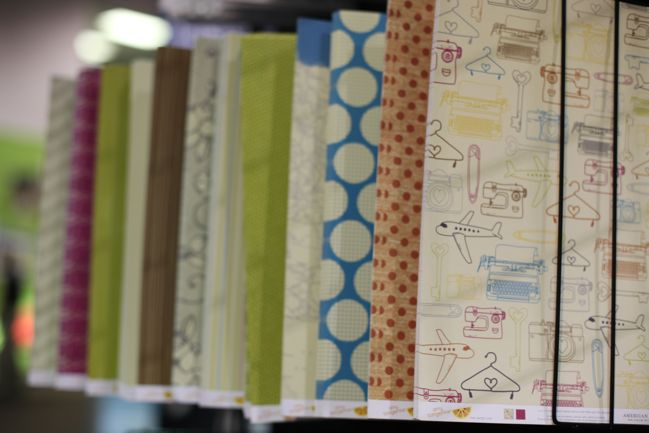 scrapbooking supplies by amy tangerine & american crafts
