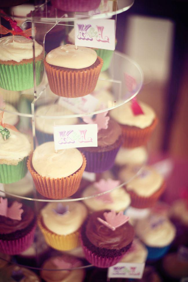 edwards wedding - london, uk - cupcakes