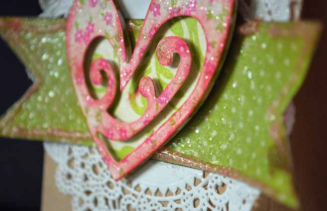scrapbooking ideas with hearts