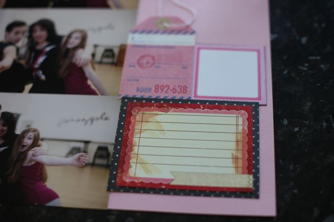 scrapbook page tutorial